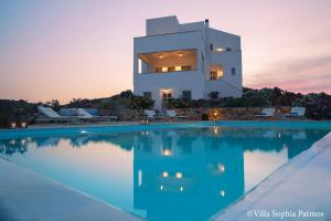 Villa Sophia Patmos, Vily  Grikos - big - 9