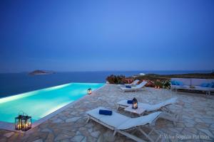Villa Sophia Patmos, Vily  Grikos - big - 11