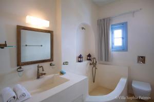 Villa Sophia Patmos, Vily  Grikos - big - 20