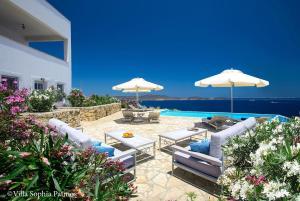 Villa Sophia Patmos, Vily  Grikos - big - 25