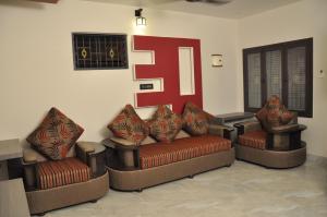 Subra Residency, Апарт-отели  Кумбаконам - big - 22