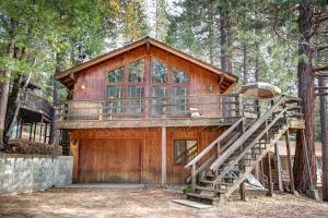 17B Tyler's Timber Lodge, Prázdninové domy  Wawona - big - 7