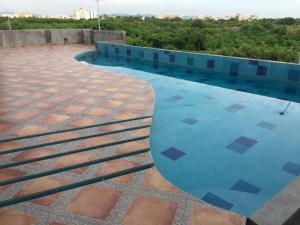Swimming pool & Beach, en La Marina, Apartmány  Mazatlán - big - 18