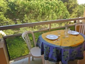 Apartment Côte d'Azur.4, Апартаменты  La Favière - big - 11
