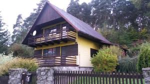 Chata Chata u lesa Máchův kraj Jestřebí Česko