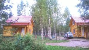Doma na beregu ozera - Krivoye Koleno