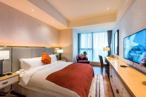 Gelade Service Apartment, Appartamenti  Chengdu - big - 52