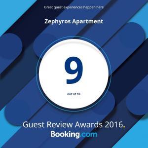 Zephyros Apartments, Apartmanok  Mandriá - big - 4