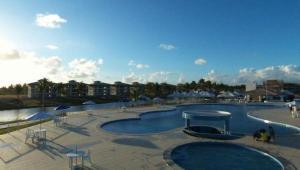 Apartamento Villa das Águas, Appartamenti  Estância - big - 8