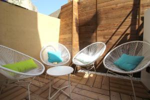 Nice Booking Atelier du vieux Nice terrasse