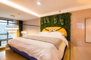 Beiou Duplex Two Bedroom Apartment, Ferienwohnungen  Guangzhou - big - 4