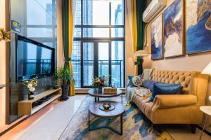 Beiou Duplex Two Bedroom Apartment, Ferienwohnungen  Guangzhou - big - 6