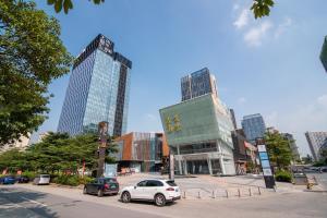 Beiou Duplex Two Bedroom Apartment, Ferienwohnungen  Guangzhou - big - 7