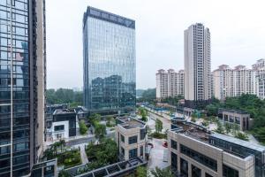 Beiou Duplex Two Bedroom Apartment, Ferienwohnungen  Guangzhou - big - 9