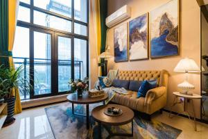 Beiou Duplex Two Bedroom Apartment, Ferienwohnungen - Guangzhou