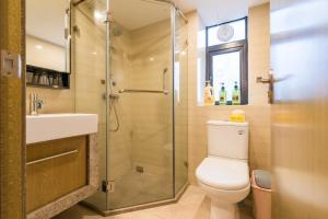 Beiou Duplex Two Bedroom Apartment, Ferienwohnungen  Guangzhou - big - 12