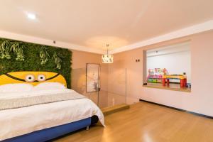 Beiou Duplex Two Bedroom Apartment, Ferienwohnungen  Guangzhou - big - 18