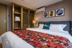 Beiou Duplex Two Bedroom Apartment, Ferienwohnungen  Guangzhou - big - 24