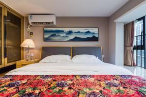 Beiou Duplex Two Bedroom Apartment, Ferienwohnungen  Guangzhou - big - 25