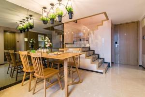 Beiou Duplex Two Bedroom Apartment, Ferienwohnungen  Guangzhou - big - 27