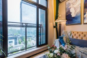 Beiou Duplex Two Bedroom Apartment, Ferienwohnungen  Guangzhou - big - 28