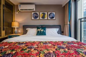 Beiou Duplex Two Bedroom Apartment, Ferienwohnungen  Guangzhou - big - 29