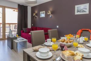 Résidence Prestige Odalys Front de Neige - Apartment - Plagne Villages