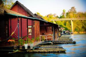 Boutique Raft Resort, River Kwai - Sai Yok