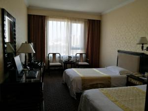 Business Twin Room Qingdao Sifang Hotel Gui Bin Lou