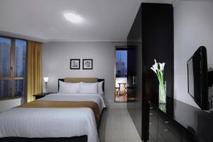 Aston Rasuna, Apartmanhotelek  Jakarta - big - 5