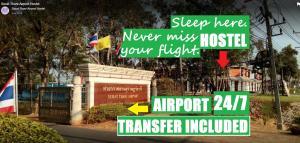 Suratthani Airport Hostel, Hostelek  Szuratthani - big - 101
