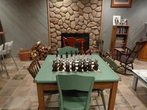 Luxury Log Cabin, Kúriák  Damascus - big - 18
