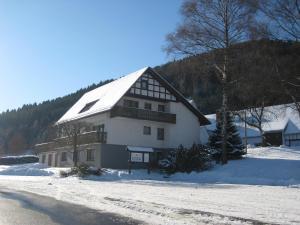 Pension-Gästehaus Waldhof, Vendégházak  Winterberg - big - 34