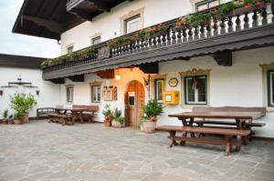 Hotel Restaurant Ferienwohnungen ALPENHOF, Apartmánové hotely  Übersee - big - 35