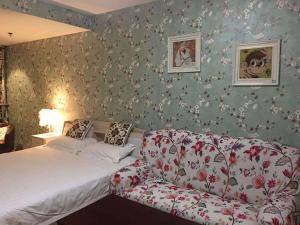 Beijing Tiandi Huadian Hotel Apartment Youlehui Branch, Ferienwohnungen  Peking - big - 33