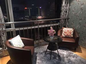 Beijing Tiandi Huadian Hotel Apartment Youlehui Branch, Ferienwohnungen  Peking - big - 34