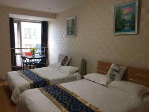 Beijing Tiandi Huadian Hotel Apartment Youlehui Branch, Ferienwohnungen  Peking - big - 36