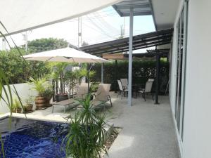 Mil Pool Villa 18, Dovolenkové domy  Hua Hin - big - 6