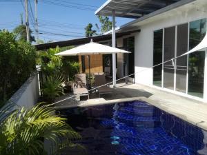 Mil Pool Villa 18, Dovolenkové domy  Hua Hin - big - 9