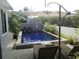 Mil Pool Villa 18, Dovolenkové domy  Hua Hin - big - 12