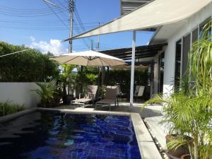 Mil Pool Villa 18, Dovolenkové domy  Hua Hin - big - 13