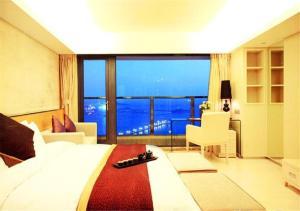 Qingdao Pattaya Sea view Apartment(Zhan Qiao Shop Near Train Station)