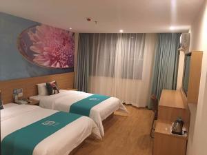 Pai Hotel Chengdu Cu Bridge Oushang City of Female Shoes, Hotely  Čcheng-tu - big - 24