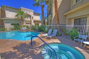 1 Bedroom Condominium in La Quinta, CA (#CLR101), Case vacanze  La Quinta - big - 12