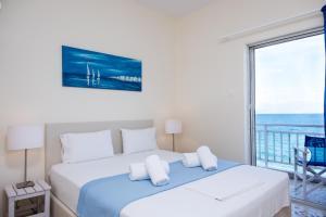 Spacious apartment on the beachfront, Dovolenkové domy  Melission - big - 16
