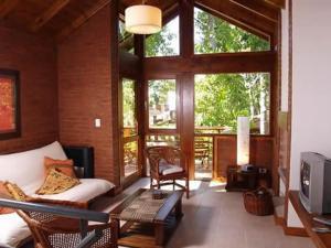 Cabañas Entreverdes, Lodge  Villa Gesell - big - 9