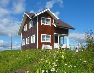 Дом для отпуска Белый Шоколад, Великая Губа