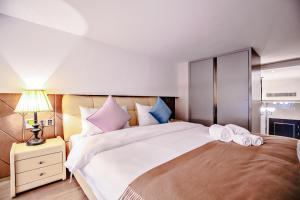 Wisetrip Riverside Apartments, Apartmanok  Hangcsou - big - 77