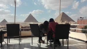Horus Guest House Pyramids View, Inns  Cairo - big - 39