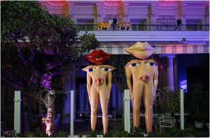 Hôtel Le Royal Promenade des Anglais, Hotel  Nice - big - 48
